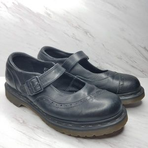 Dr. Martens Black Alison Mary Jane Womens Size 10